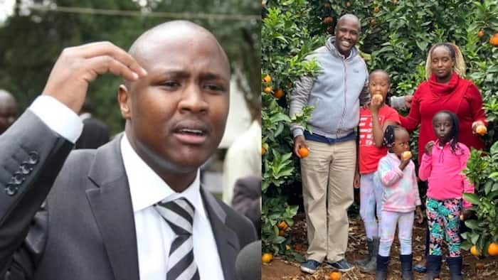 Father of daughters: MP Alfred Keter shows off his beautiful family