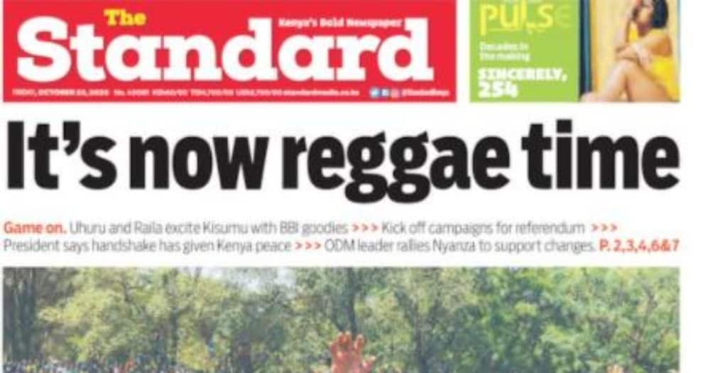 Kenyan newspaper review for October 23: Gov't rules out closure of schools despite increasing COVID-19 cases