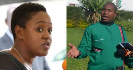 Murang'a Women Rep Sabina Chege puts MP Ole Sankok to task over slay queen remarks