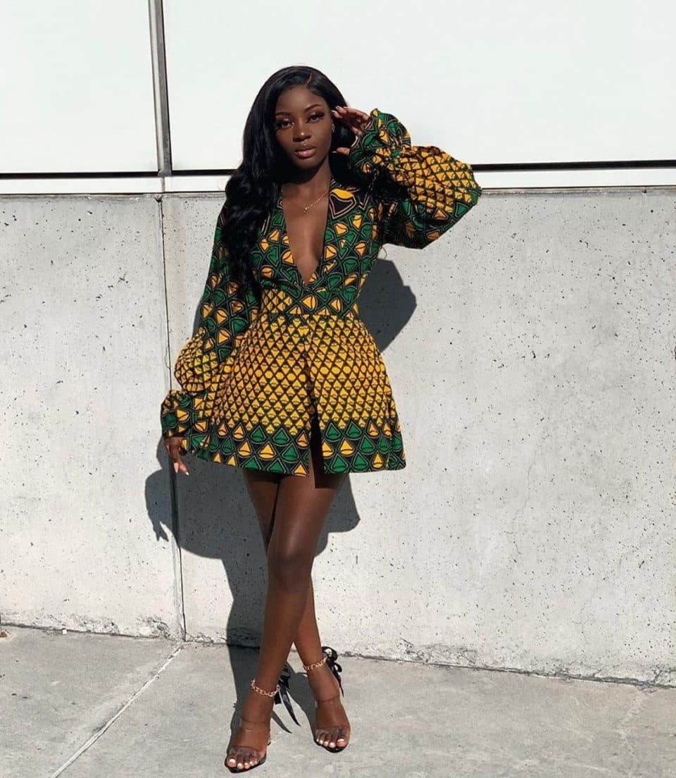 Kitenge dress designs images
