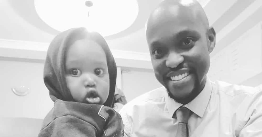 Janet Mbugua's husband Eddi Ndichu marked their son's birthday.
