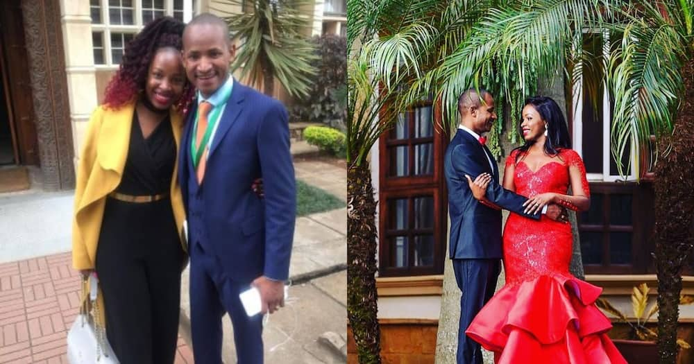 """Babu Owino's Wife Showers Him with Praises, """"the Love of My Life"""