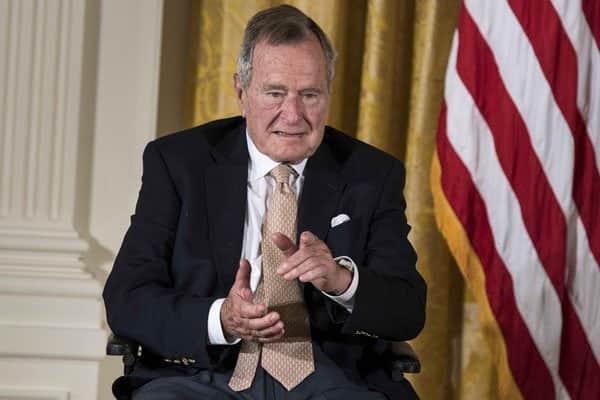 Former US president George Herbert Walker Bush dies aged 94