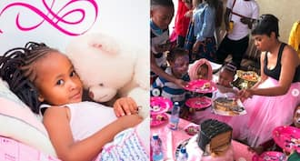 DJ Mo and Size 8 host lavish birthday party for celebrity daughter Ladasha Belle as she turns 3