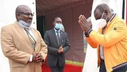 Veteran evangelist Pius Muiru visits William Ruto in Karen