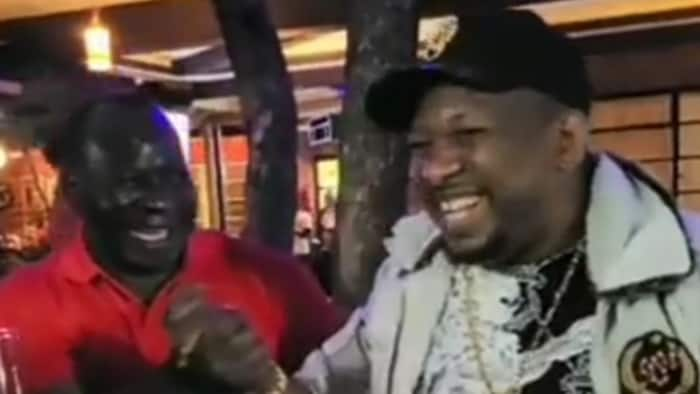 """Mike Sonko Hangs Out with Political Nemesis Reuben Ndolo: """"Today We're Brothers"""""""