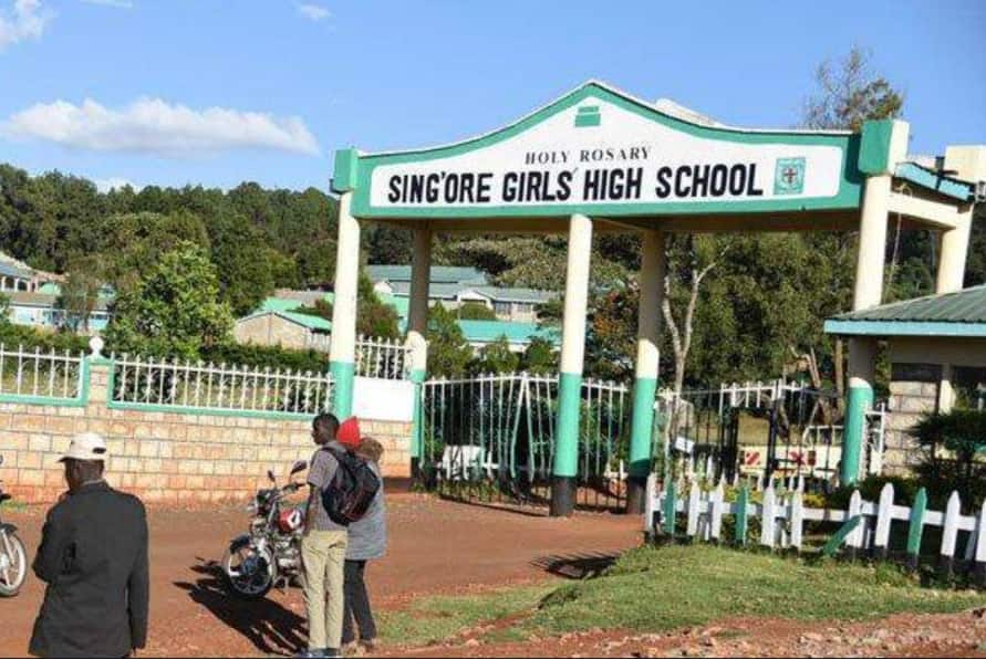 Sing'ore Girls' protests poor 2018 KCSE results, students put under counselling