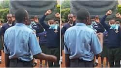 Wakenya Wamsifu Polisi Aliyenaswa kwenye Video Akiwaombea Watahiniwa wa KCSE