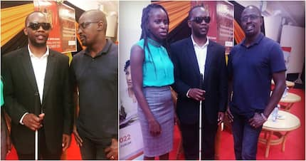 Meet Eric Ng'ondi, the man who lost eyesight in two separate robbery attacks in one year