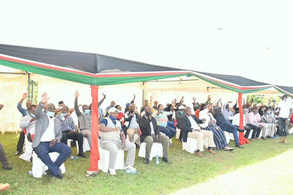 Zawadi ya vijana wa Nyanza kwa Oscar Sudi yasisimua mtandao