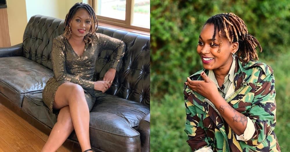 Gorgeous Kiambu prison officer Mary Wanunu advises netizens to be mindful of their friends.