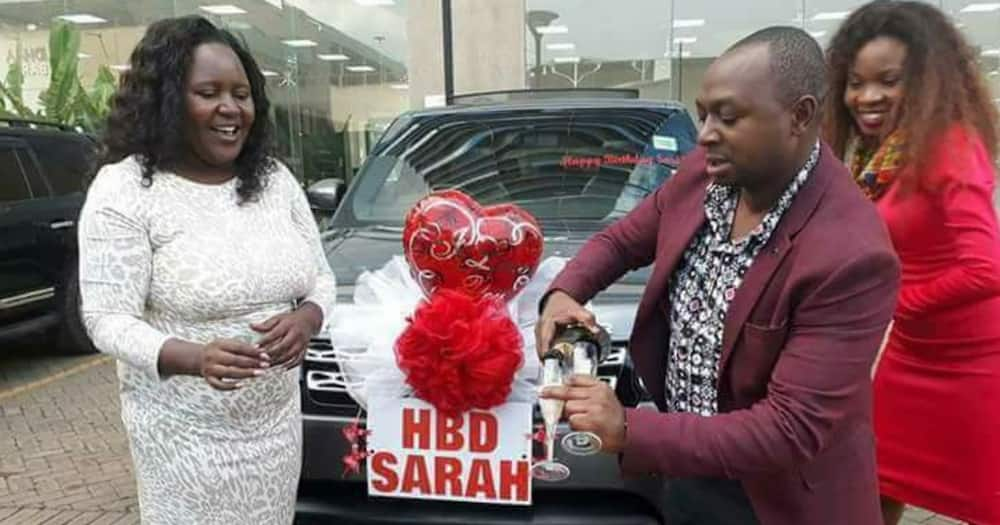 Sarah Kabu will be turning 45 soon.