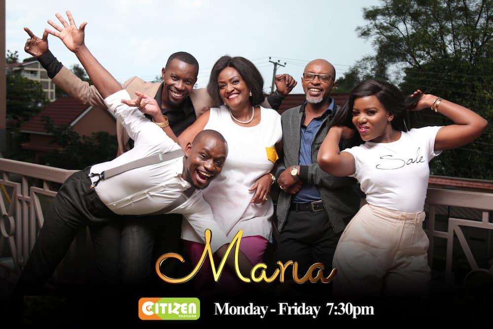 Citizen TV Maria cast