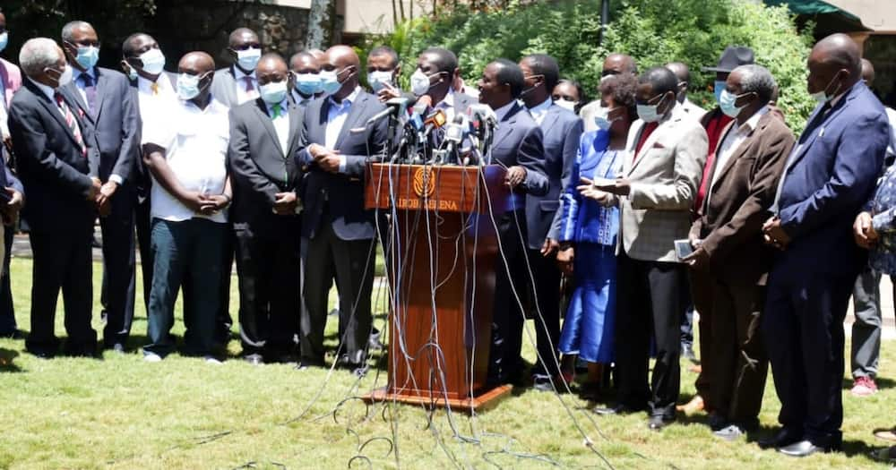 "Kalonzo Musyoka Invites Raila to Join One Kenya Alliance: ""We're One People"""