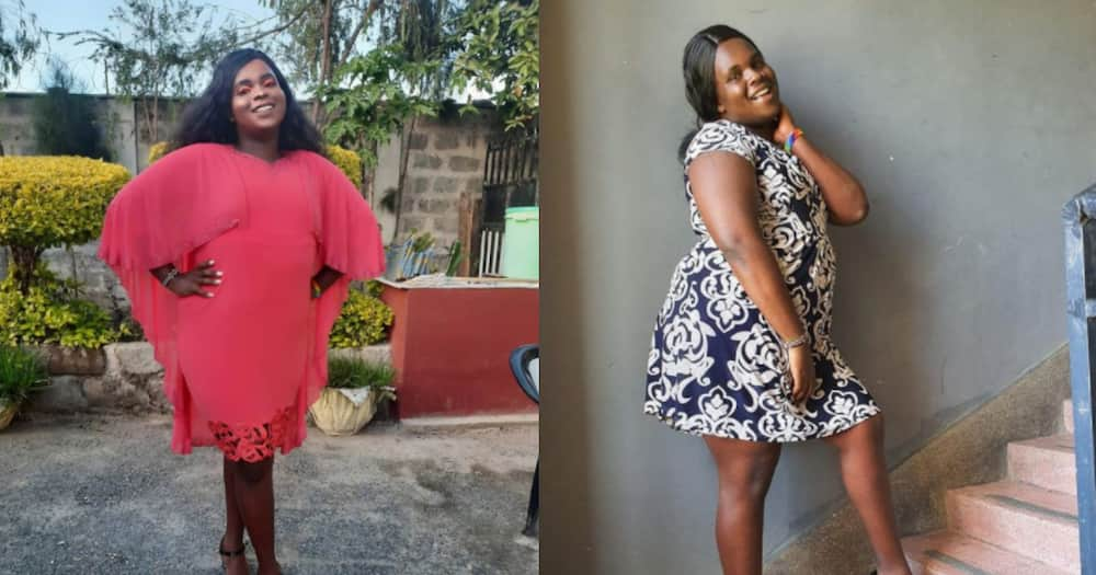 Meet Kinuthia, Kenyan Male Tiktoker Who Dresses in Women's Clothes, Applies Makeup