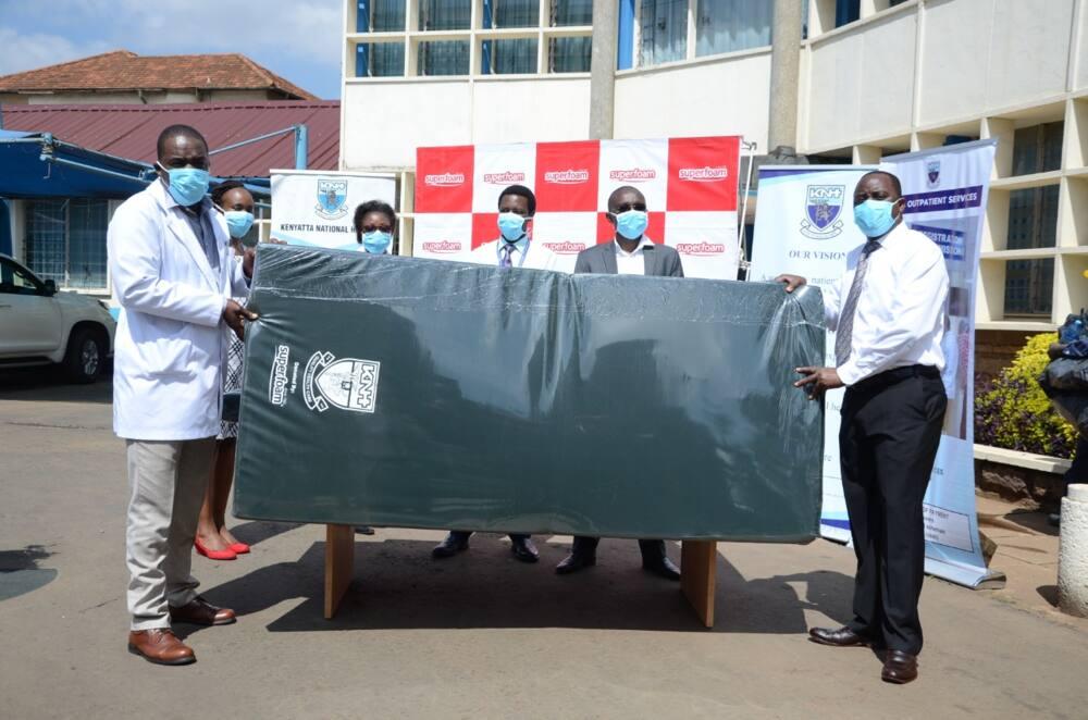 Local manufacturer donates comfortable mattresses to coronavirus patients in isolation