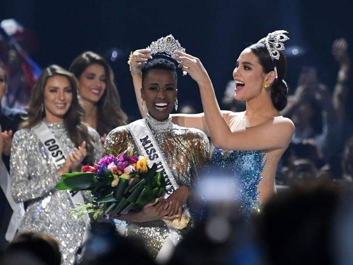 Miss South Africa Tunzi Zozibini secures 2019 Miss Universe title