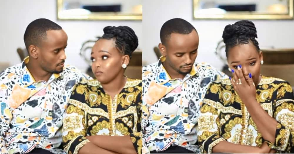 """Day Kabi WaJesus, Wife Milly Cried on Camera While Denying Paternity of Baby Abby: """"She's My Niece"""""""