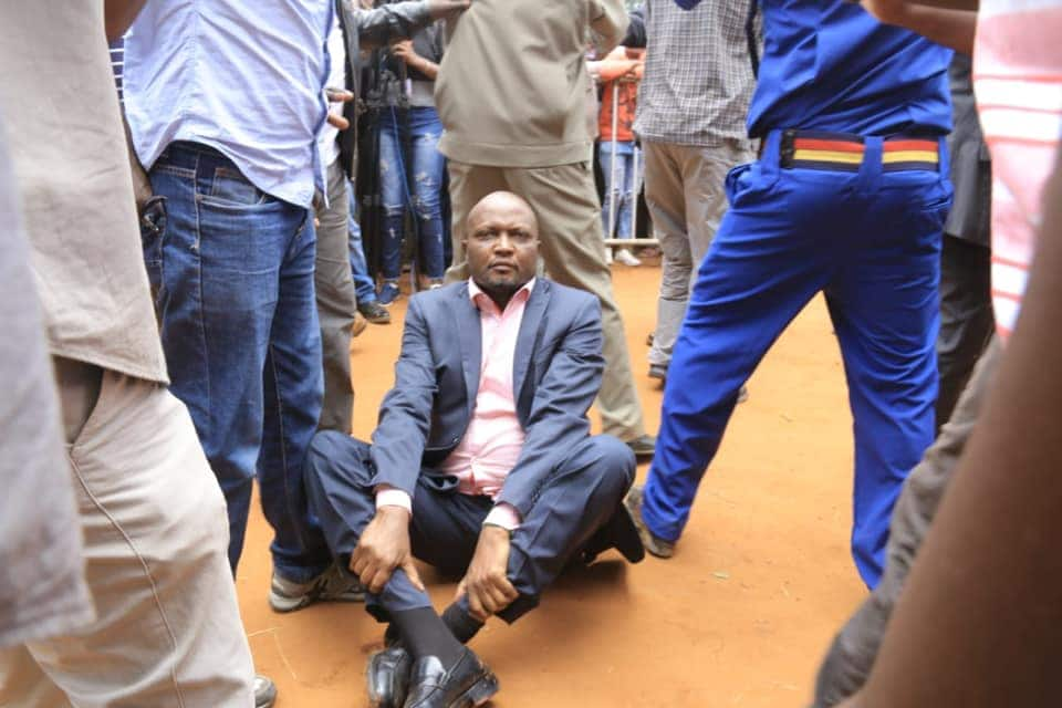 MP Moses Kuria forgives goons who ejected him out of BBI rally