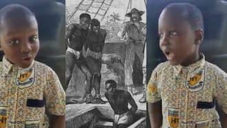Boy Asks His Dad to Take Him to Britain to Bring Back Gold Taken During Slavery