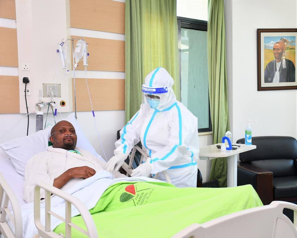 Moses Kuria apatwa na coronavirus