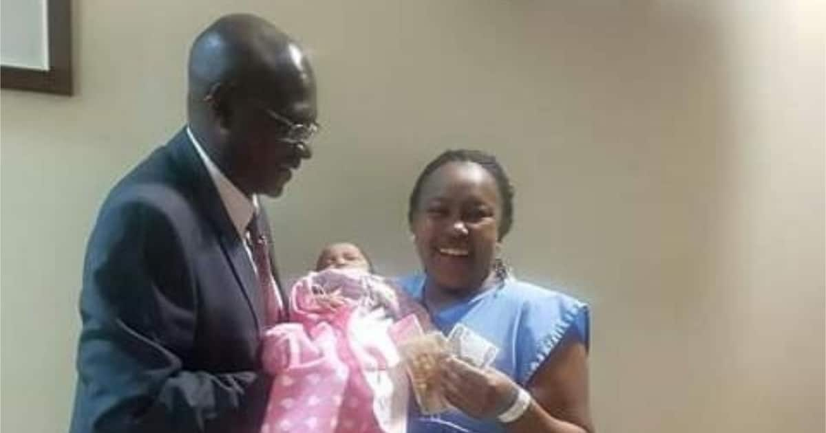Mbeere North MP keeps promise by gifting 2k to woman who delivered in his constituency
