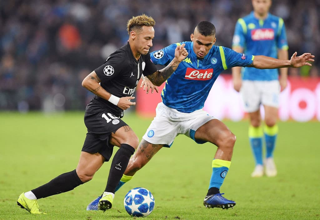 Champions League: Napoli draw 1-1 with PSG