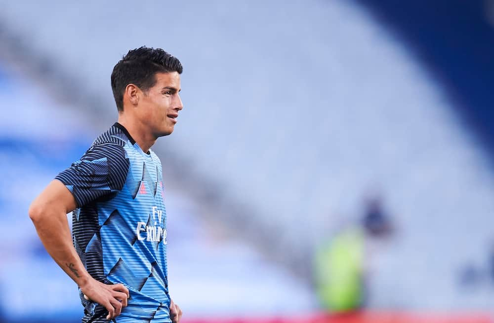 James Rodríguez: Man United and Arsenal join race to sign Real Madrid star