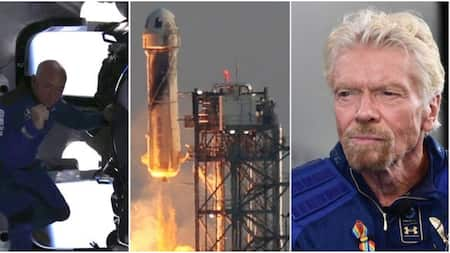 Jeff Bezos, Sir Richard Branson Not Yet Astronauts Despite Making it to Space, US Gov't Says