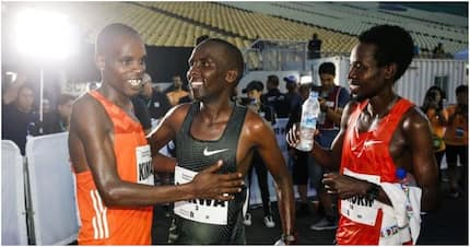 Kenya takes Singapore by storm after sweeping positions 1 to 17 in Standard Chartered Marathon