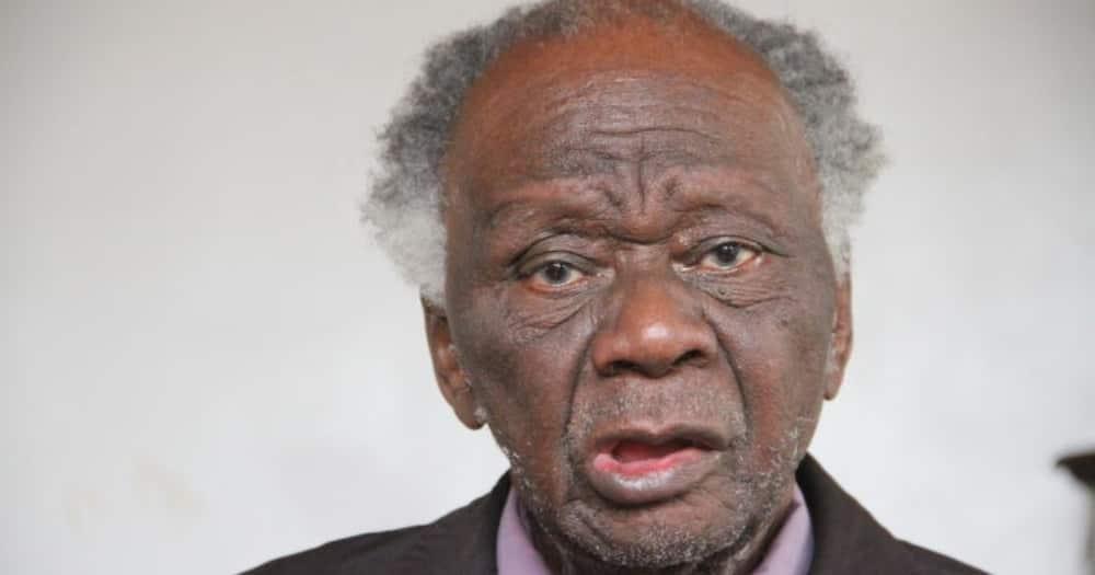 Renowned lawyer John Khaminwa. Photo: LSK.