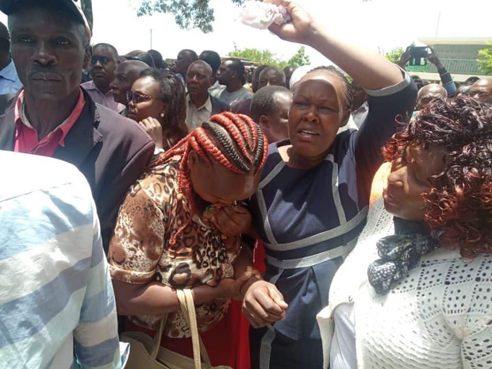 Kipyegon Kenei: Tears flow freely as late officer's body arrives in Nakuru