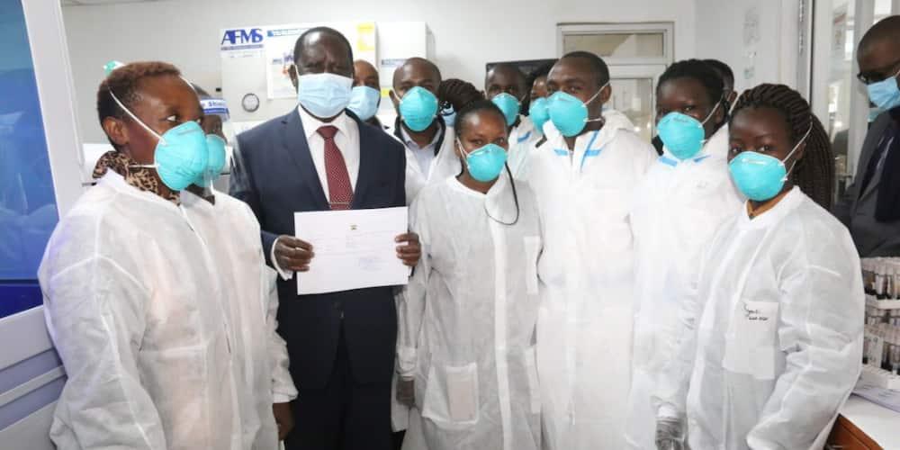 Raila Odinga tests negative for COVID-19