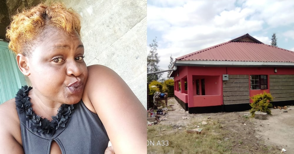 Chips Vendor Who Built Herself 3 Bedroom House Discloses She's Single Mother of 3, University Dropout