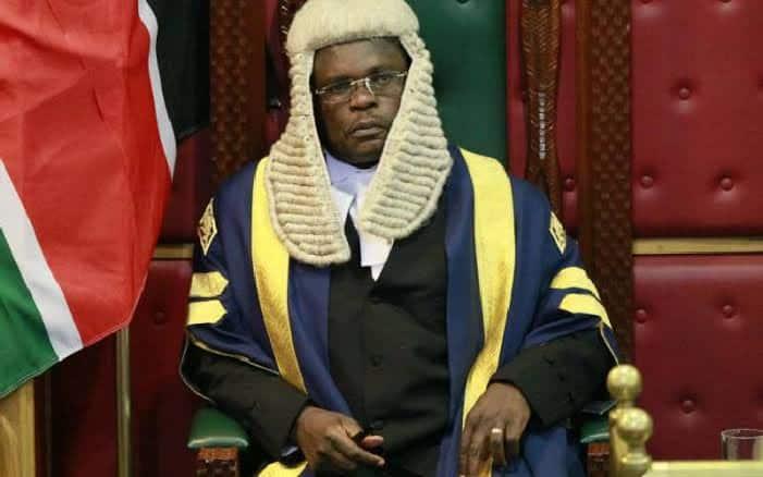 Speaker Ken Lusaka assures Senate shall debate Waiguru's impeachment justly