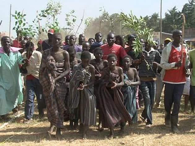Bukusu community defy coronavirus rules, proceed with circumcision ceremony