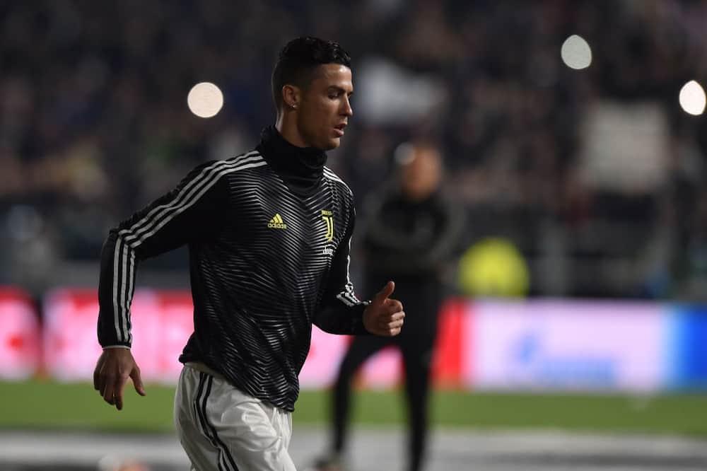 Cristiano Ronaldo's partner Georgina admits she felt embarrassed training with the Juve star