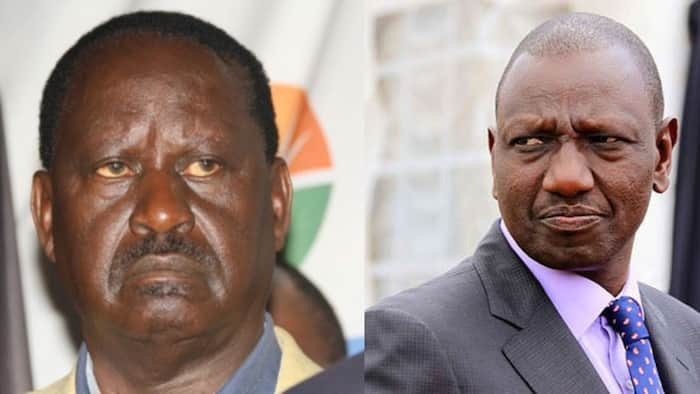 Raila Says He Still Gets Rift Valley Votes Without William Ruto's Support
