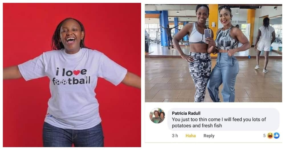 Carol Radull's mother asks her to go home so that she can feed her well