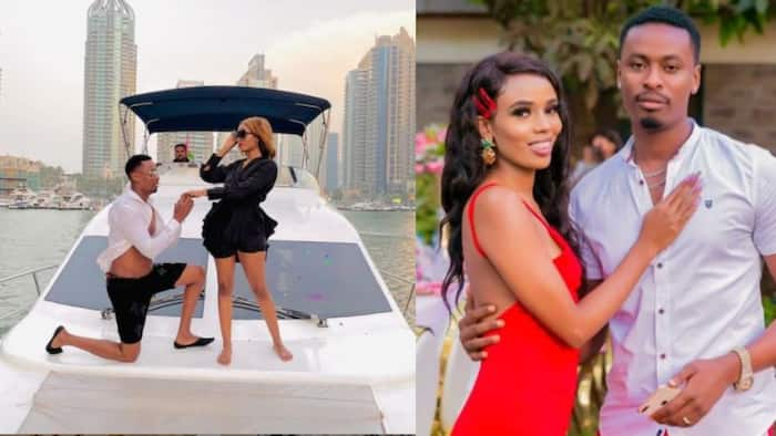 FBI Dancer Ezra Proposes to Lover Isha Raffi while in Dubai, Months after He Was Exposed