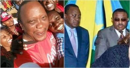 Picha za Rais Uhuru zawasha mitandao Afrika Kusini