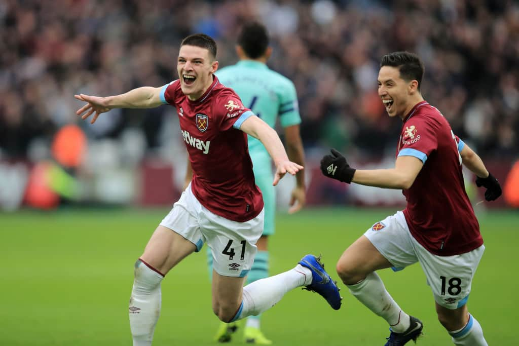 Gallant West Ham beat Arsenal 1-0 in the Premier League