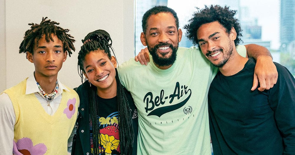 Will Smith and his children