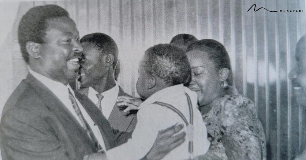 Musalia Mudavadi Shares Throwback Photo of Family Welcoming Him Back After Negotiating World Bank Aid