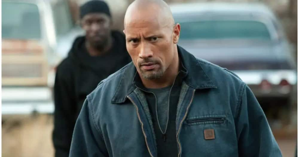 Dwayne Johnson, aka The Rock as John Matthews, goes undercover to infiltrate the drug cartel in a bid to save his son from prison. Photo: Showmax.