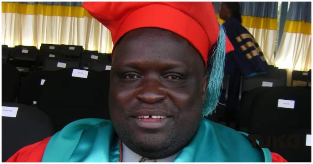 Daniel Ochieng Orwenjo, a senior lecturer at the Technical University of Kenya. Photo: TUKO.co.ke.