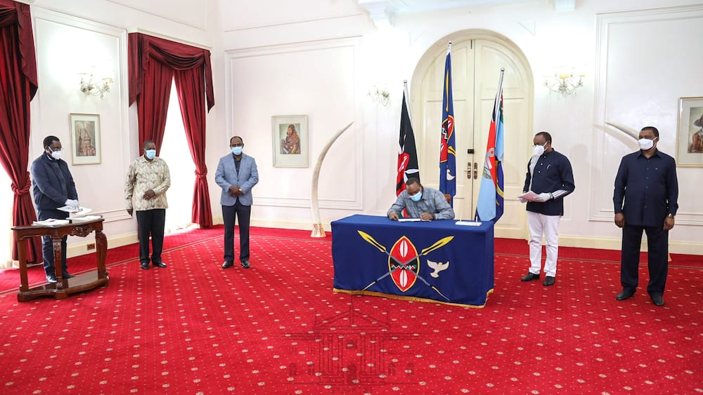 COVID-19: Good news as Uhuru signs bill reducing tax on salaries