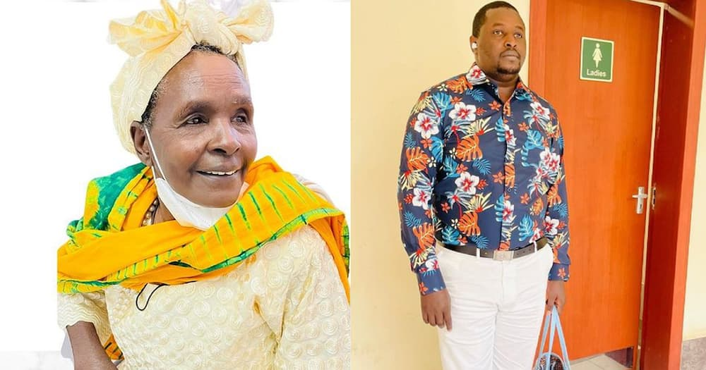 Terence Creative's grandmother (l) is dead.
