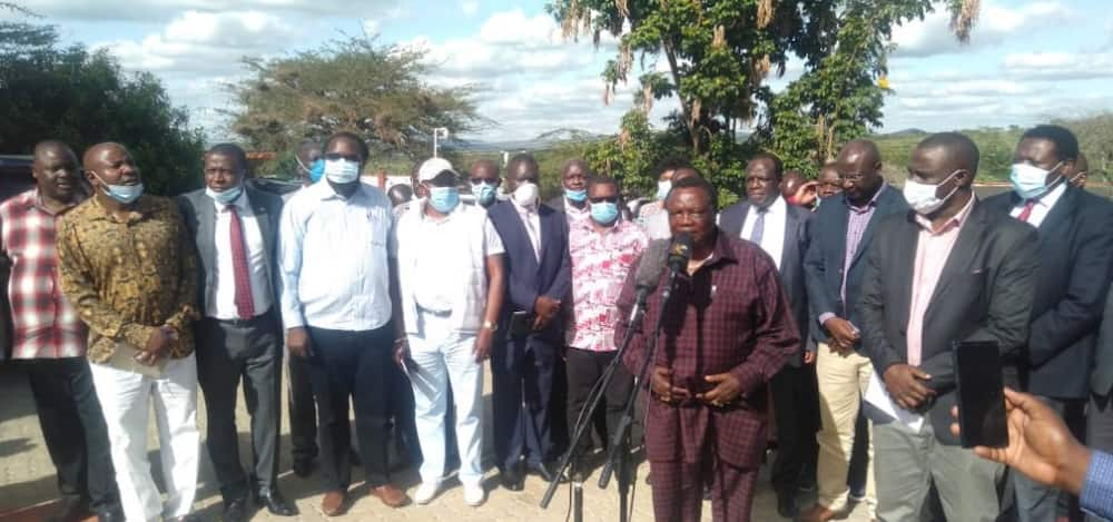 Mudavadi slams leaders who met COTU boss Atwoli at his home for flouting COVID-19 containment measures