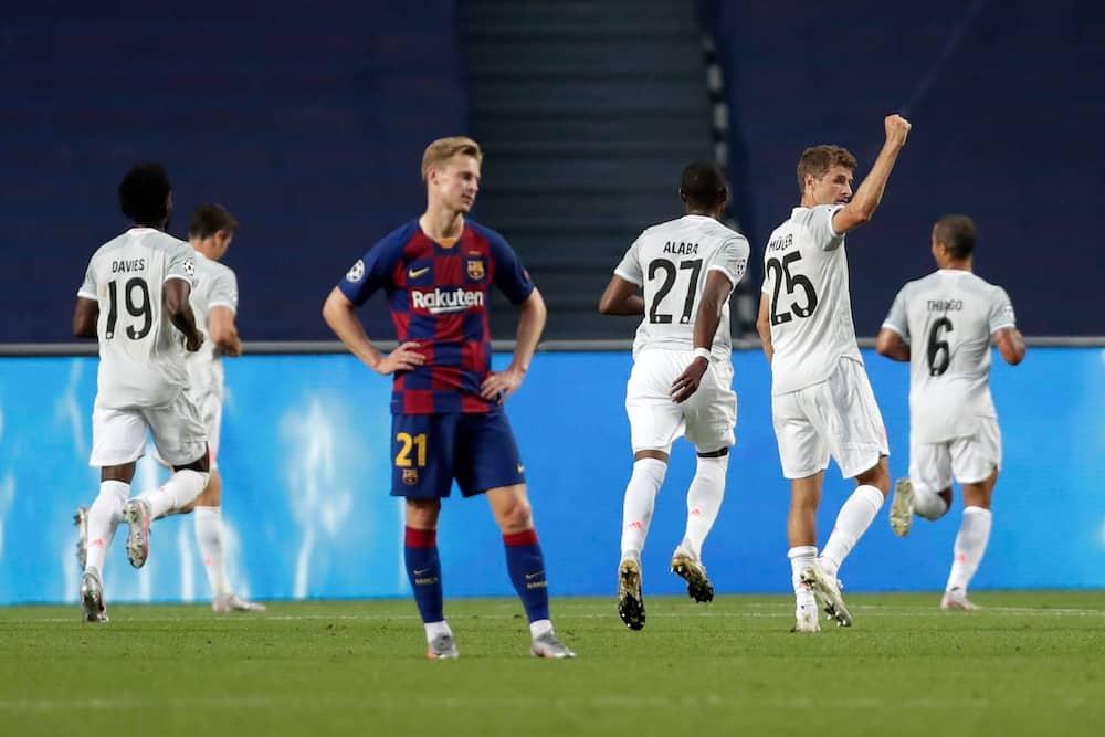 Barcelona wapanua lango, Bayern waingiza 8 bila huruma